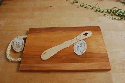 画像1: 北欧雑貨 キッチン SKANDINAVISK.H 《スカンジナヴィスク.H》 木製バターナイフ