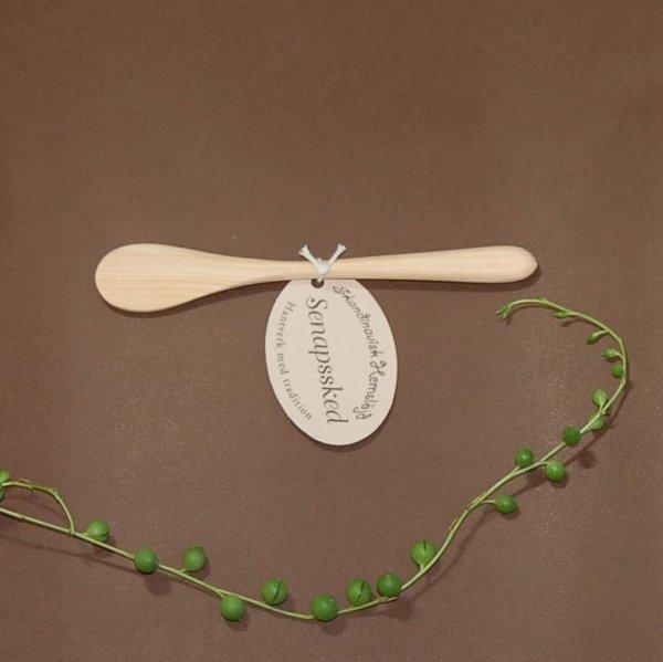 画像1: 北欧雑貨 キッチン SKANDINAVISK 《スカンジナヴィクス.H》 木のスプーン (1)